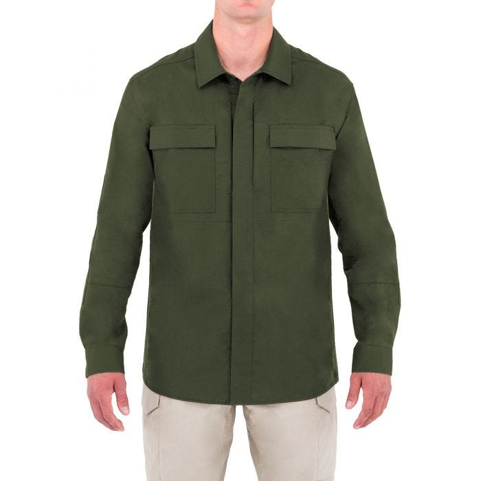 First Tactical camicia BDU Specialist a maniche lunghe uomo in OD Green