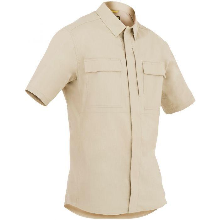 First Tactical camicia BDU Tactix manica corta uomo in cachi