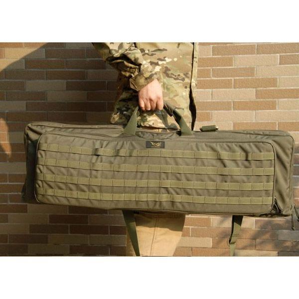 Flyye borsa per fucile Deformation con sistema MOLLE in Coyote Brown