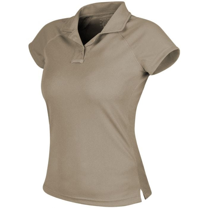 Helikon Women's Urban Tactical Line Polo Shirt TopCool Khaki