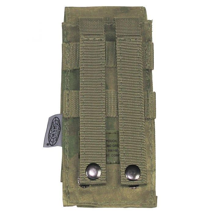 MFH custodia singola portacaricatore M4/M16 con attacco MOLLE in HDT Camo FG