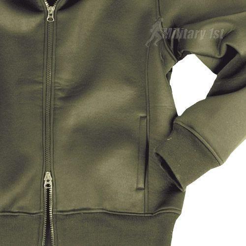 Mil-Tec giacca in neoprene con interno in pile in verde oliva