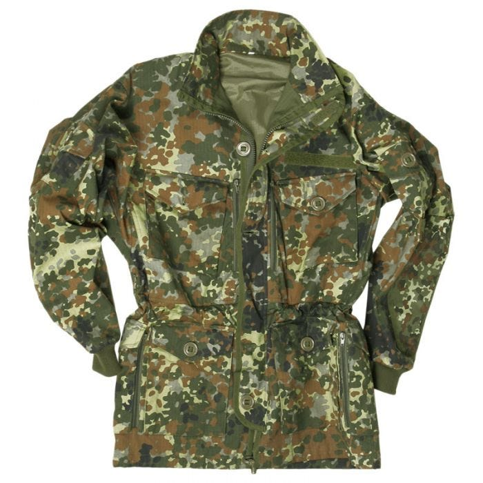 Mil-Tec giacca smock in Flecktarn