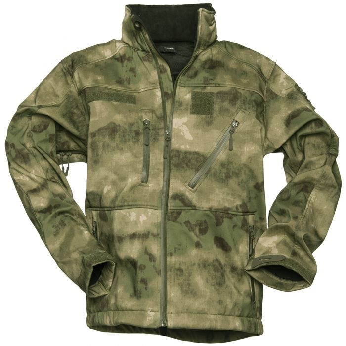 Mil-Tec giacca Softshell SCU 14 in MIL-TACS FG