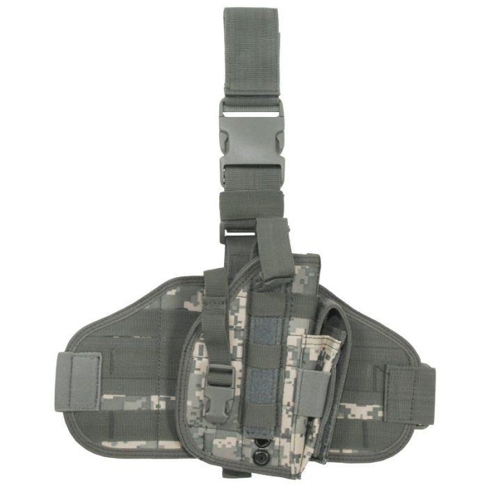 MFH fondina tattica da gamba MOLLE in ACU Digital