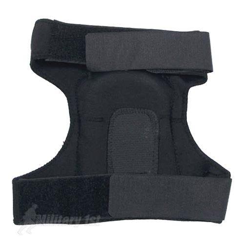 MFH ginocchiere in Neoprene in nero