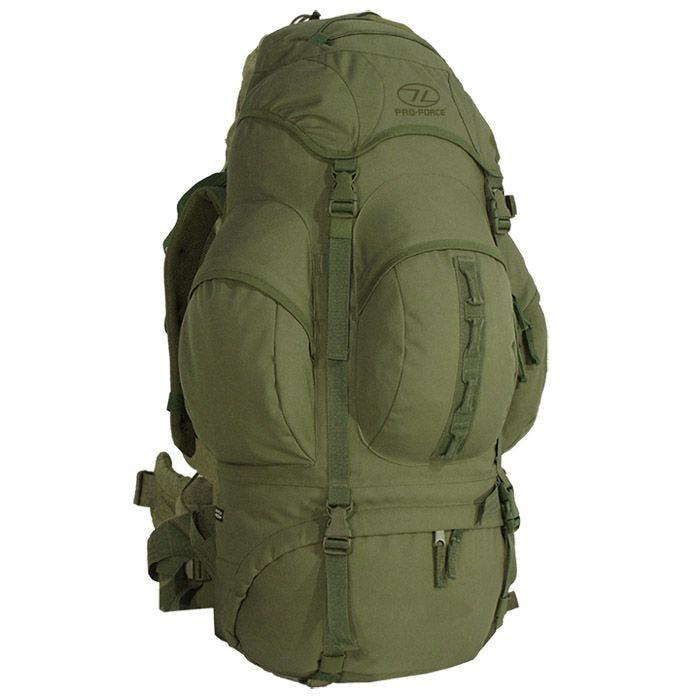 Pro-Force zaino New Forces 66L in verde oliva