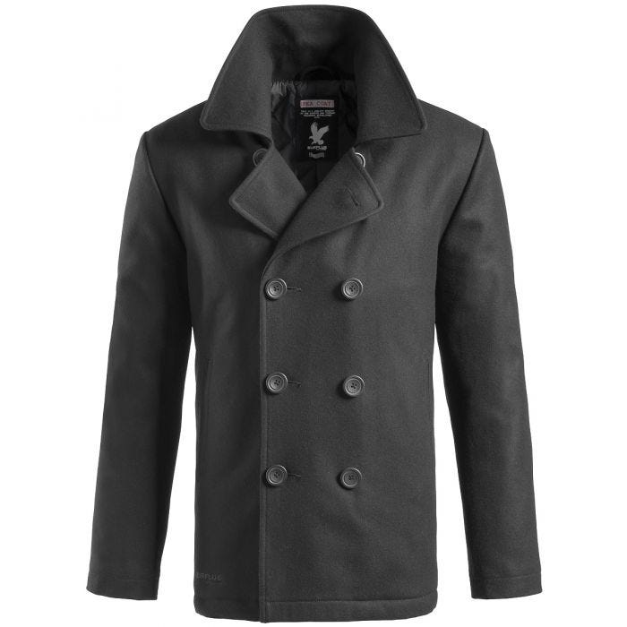 Surplus cappotto Caban in nero