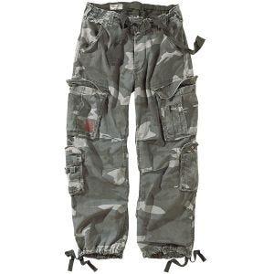 Surplus pantaloni vintage Airborne in Night Camo