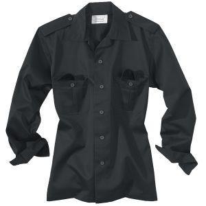 Surplus camicia US a maniche lunghe in Navy