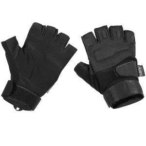 MFH guanti tattici Protect senza dita in nero