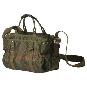 Pure Trash borsa a mano large in OD Green