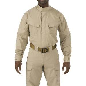 5.11 Stryke TDU Shirt Long Sleeve TDU Khaki