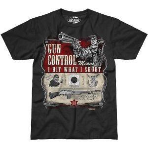 7.62 Design T-Shirt Gun Control in nero