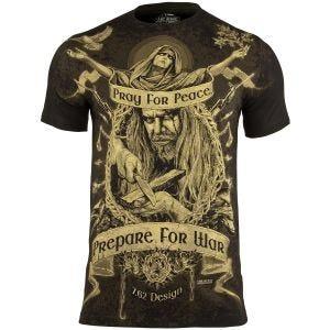 7.62 Design T-Shirt Prepare For War in nero