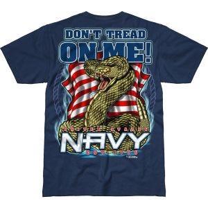 7.62 Design T-Shirt USN Don't Tread On Me Battlespace in Navy