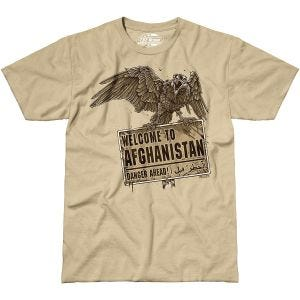 7.62 Design Welcome To Afghanistan Maglietta Sabbia