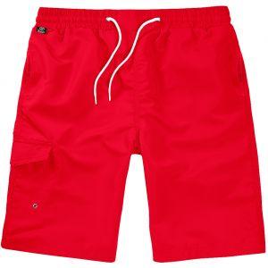 Brandit costume bermuda in rosso