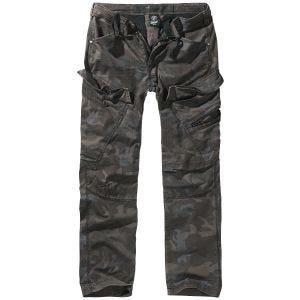 Brandit pantaloni Adven con taglio slim in Dark Camo