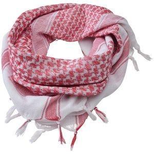 Brandit sciarpa/kefiah in rosso/bianco