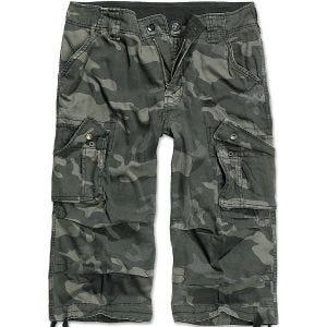 Brandit shorts Urban Legend a 3/4 in Dark Camo
