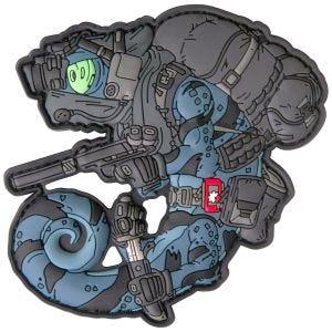 Patchlab patch Chameleon Nightstalker in blu/nero
