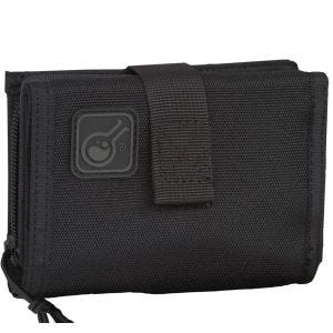Civilian portafoglio e custodia cellulare iWallet 2-in-1 in nero