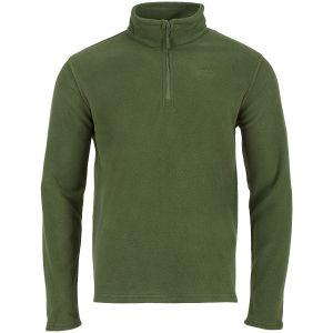 Highlander maglia Ember in pile verde oliva