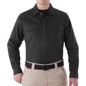 First Tactical camicia BDU V2 a maniche lunghe uomo in nero
