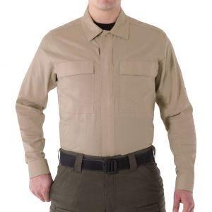 First Tactical camicia BDU V2 a maniche lunghe uomo in Khaki