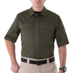 First Tactical camicia BDU V2 a maniche corte uomo in OD Green