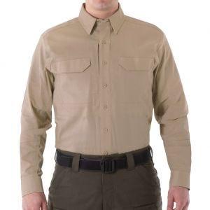 First Tactical camicia Tactical V2 a maniche lunghe uomo in Khaki