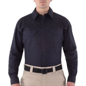 First Tactical camicia Tactical V2 a maniche lunghe uomo in Midnight Navy
