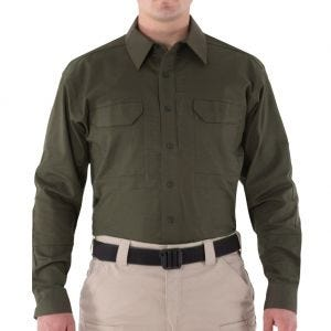 First Tactical camicia Tactical V2 a maniche lunghe uomo in OD Green