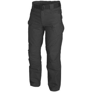 Helikon pantaloni UTP in ripstop in nero