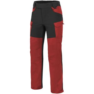 Helikon pantaloni Outback Hybrid in DuraCanvas in Crimson Sky / nero