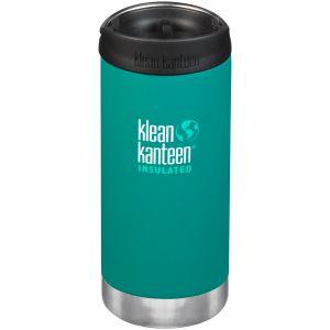 Klean Kanteen borraccia termica TKWide con tappo tazza caffè takeaway 355ml in Emerald Bay