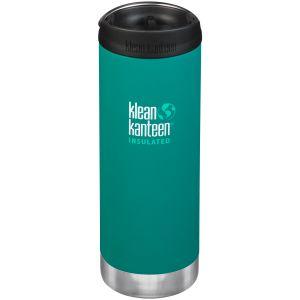 Klean Kanteen borraccia termica TKWide con tappo tazza caffè takeaway 473ml in Emerald Bay