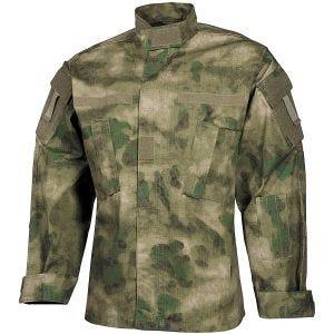 MFH giacca da campo ACU in Ripstop HDT Camo FG