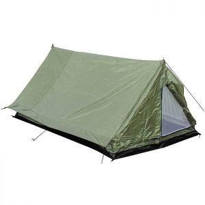 MFH tenda Minipack per 2 persone con zanzariera in OD Green