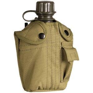Mil-Tec borraccia militare da 1 litro con custodia in coyote