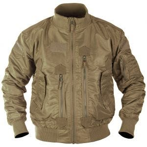 Mil-Tec US Tactical Flight Jacket Dark Coyote
