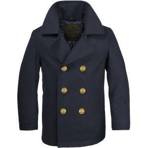 Mil-Tec cappotto Caban marina tedesca Colani in Navy