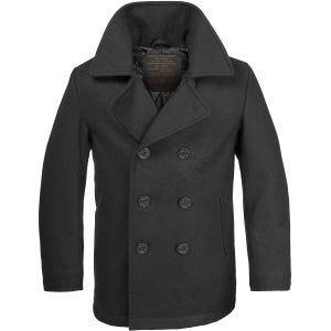 Mil-Tec cappotto Caban marina US in nero