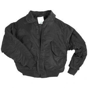 Mil-Tec giacca da pilota CWU US in nero