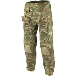 Mil-Tec pantaloni Warrior con ginocchiere in Arid Woodland