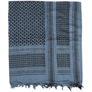 Brandit sciarpa/kefiah in blu/nero