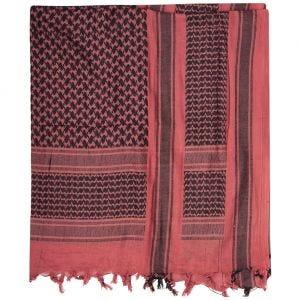 Mil-Tec sciarpa/kefiah in rosso/nero