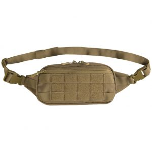 Mil-Tec marsupio MOLLE in Dark Coyote