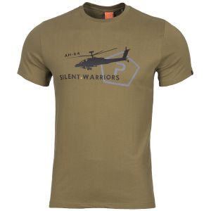 Pentagon T-Shirt Ageron Helicopter in Coyote